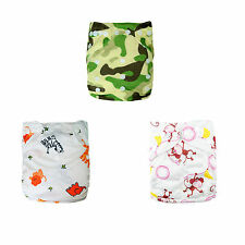 U pick Alva baby Cloth Diapers Washable Reusable Pocket Nappy +1 insert Lot