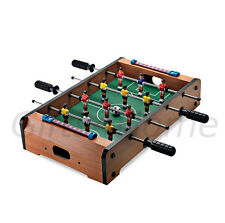 BRAND NEW DELUXE TABLE TOP FOOTBALL FOOSBALL GAME SOCCER ARCADE STYLE PLAY
