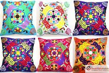 Floral pattern Indian cushion covers - Baag