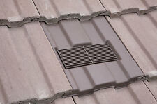 Redland Renown / Marley Ludlow Major Vent Tile Roof Ventilation + Fitted Adaptor