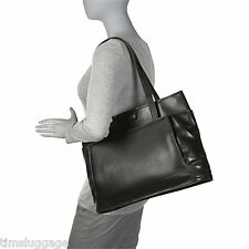 Korchmar Magnetite Business Tote Full Grain Leather, Available in Black or Brown