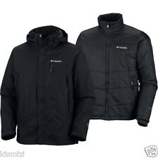 "NEW COLUMBIA MENS ""Lhotse Mountain II"" OMNI HEAT PARKA WINTER JACKET COAT 3-IN 1"