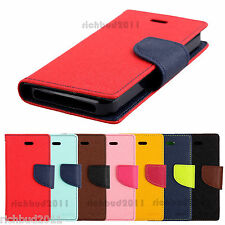 MERCURY FANCY DIARY WALLET COVER FLIP CASE FOR APPLE IPHONE 5 5S