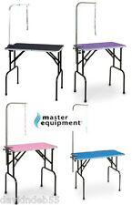 MASTER EQUIPMENT Pet Dog Cat PRO Grooming Table w/ Arm, Loop Non-slip Top*SMALL
