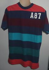Mens AEROPOSTALE Striped Graphic T-Shirt Tee size NWT #2444