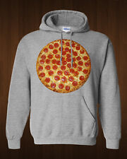 PIZZA! Hoodie - Pepperoni pizza - delicious foodie sweatshirt - Italian food