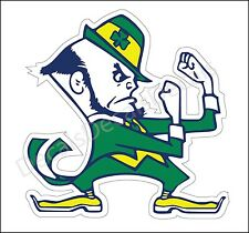 Notre Dame Fighting Irish NCAA College Football ND Decal Sticker Free Shipping