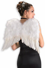 Deluxe Feather Angel Wings-WHITE OR BLACK-COSTUMES-COSPLAY-CHURCH-Club Wear
