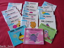 MR MEN AND LITTLE MISS BOOKS CHOICE OF TITLE