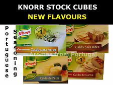 KNORR Stock Cubes NEW SEASONING FLAVOURS Portugal