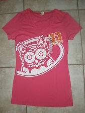 NEW WOMEN'S SEXY PINK HOOTERS OWL T-SHIRT PORT RICHEY, FLORIDA SIZES S,M,L,XL