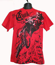 Fluid Mx Clothing Motocross Racing - Thrashed Skull (M-2X) T-shirts
