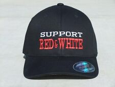 "Hells Angels Cave Creek ""Support Red & White"" Flexfit Hat - Embroidered"