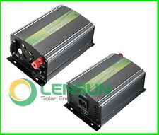 350W 500W 14-28V 28-52V DC 12V Solar Panel Pure Sine Wave Grid Tie Inverter