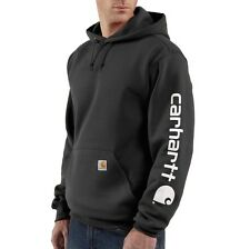 CARHARTT K288 MIDWEIGHT HOODED PULLOVER LOGO SWEATSHIRT VARIOUS COLORS