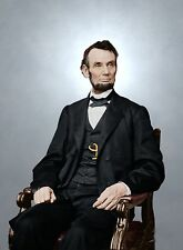 Abraham Lincoln assassinated president Civil War color ID-528388