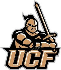 UCF Knights University of Central Florida Decal/Sticker Cornhole Board Free Ship