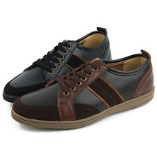 New Mens Classic Style Casual Lace Up Sneakers Shoes Multi Colored