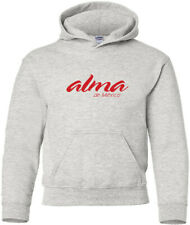 ALMA de Mexico Retro Logo Mexican Airline Hooded Sweatshirt HOODY