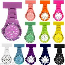 Nurses Silicon / Rubber Coloured Nurses Fob Watch by Prince of London