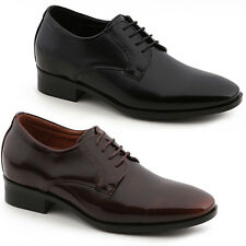 New Trend Mens Elevator Taller Height Incresing Dress Formal Leather Shoes
