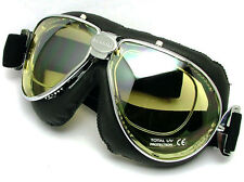 NEW NANNINI TT 4V Italian Motorcycle Goggles FREE SHIPPING for PRESCRIPTION LENS