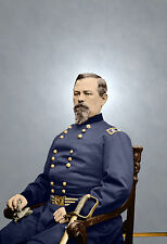 General McDowell Union Potomac Color Tinted photo Civil War 01150
