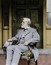 General Lee Confederate Richmond VA Color Tinted photo Civil War 23115