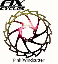 PINK ALLIGATOR WINDCUTTER FRENO A DISCO ROTORI 180mm