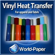 "Heat transfer vinyl film heat press machine cad cut cutter plotter 20"" x 5 yard"