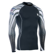 FIXGEAR CPD_B38 Compression shirt skin-tight base layer training gym MMA fitness