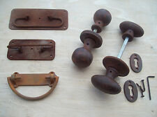 Cast iron rustic aged reclaimed reproduction Door cupboard Furniture fittings