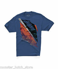 NEW WITH TAGS Alpinestars APOCALYPSE Tee Shirt MEDIUM-2XLARGE BLUE FADE RARE