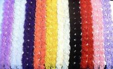Rose Flower Lace Fabric Trim - Bridal Flowers Net Tulle - DOUBLE ROW 1m and more