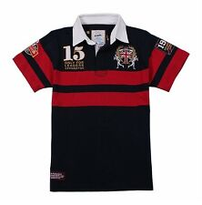 KEVINGSTON VINTAGE ENGLAND NO.15 RUGBY POLO JERSEY MULTIPLE SIZE