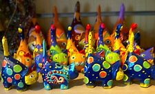 Fab Painted Cats.  Three different styles all fair trade from Indonesia