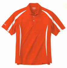 PING GROOVE Mens SS Golf Polo Shirt    ORANGE    NTW    pick your size