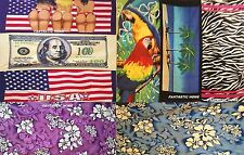 BEACH TOWELS 30 X 60 ASSORTED DESIGN 100% COTTON NEW !!!!