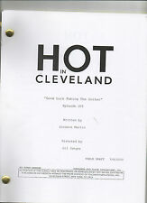 HOT IN CLEVELAND  Script Betty White - Valerie Bertineli  - U Pick Episode