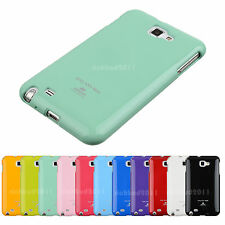 MERCURY PEARL JELLY CASE ULTRA THIN  FOR SAMSUNG GALAXY NOTE N7000 I9200 I717