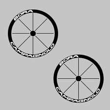 Campagnolo Deep Rim Carbon Bike/Cycling/Cycle/Push Bike Wheel Decal Sticker Kit