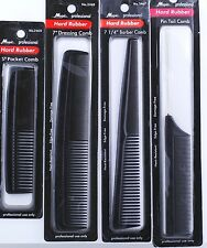 1 Piece Hard Rubber Hair Comb:Pocket,Barber,Dressing,Styling,Tail,Handle Comb
