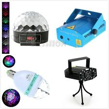 Disco DJ Stage Lighting Voice-activated LED RGB Crystal Magic Ball Effect Light