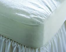 Deep Fitted Waterproof Terry Towel Mattress Protector Towelling Sheet Bed Cover