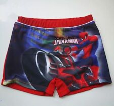Boys Marvel Spiderman Red SWIM Shorts Bathers Swimmers Swimsuit Trunks Togs Szs