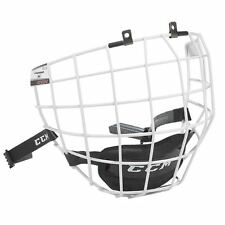 CCM FM580 White Hockey Helmet Cage - Face Mask - Small, Medium or Large - NEW!!!