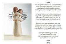 Personalised Poem Christening Gift Godmother/Godfather to Godson/Goddaughter