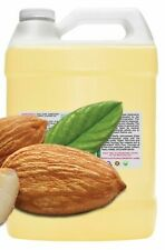 1 GALLON 128 oz 100% PURE ORGANIC COLD PRESSED SWEET ALMOND OIL carrier massage