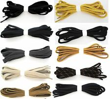STRONG BOOT LACES WALKING BOOT HIKING BOOT STRONG ROUND FLAT LACES BOOTLACES