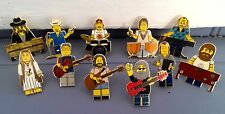 Jerry - grateful dead - lego GD - Furthur - Phil Lesh & friends - lapel pins